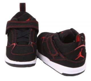 4c7aa9f1544a39 ... Jumpman Infant Baby Boys 3 PC Bodysuit Hat Booties Set Black  Nike  Jordan Flight 45 Boys Toddlers Black Red White Walking Sneakers ...