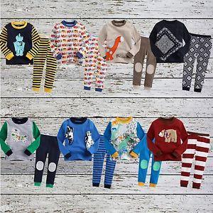 "2pcs Vaenait Baby Toddler Kid's Boys Clothes Sleepwear Pajama""Must Have 8"""