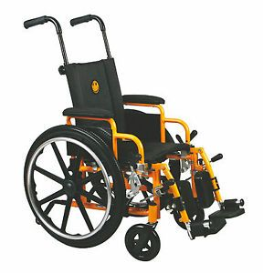 "Medline Excel Kidz Kids Childrens Pediatric 14"" Wheelchair"