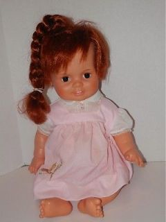 "1972 Ideal 24"" Crissy Growing Hair Baby Doll Red Auburn Hair"
