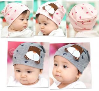 Cartoon Dag Colorful Cotton Baby Hat Girl Boy Kids Beanies Cap Hats 1 12months