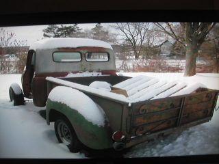 1954 International 100 Pick Up Truck Rat Hot Rod Project Car Solid from Arizona