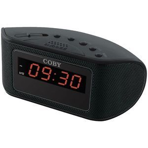 Coby CRA55 Digital Alarm Clock Radio