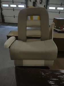 A Pompanette Helm Chair Withfold Up Bolster Ladder Back Design Deluxe III Seat