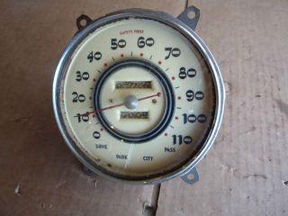 1937 Cadillac LaSalle Speedometer Hot Rat Rod Custom