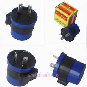 New Motorcycle Indicator Flasher Relay Turn Signal 2 Pin LED Light 12V LH