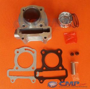 Moped Big Bore Cylinder Kit 44mm GY6 50cc 60cc 139QMB Scooter Karts ATV Jonway
