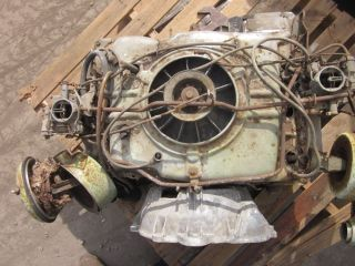 Chevy Chevrolet Corvair Engine Six Cylinder Dual Carb 1961 80 HP 80HP 3786588