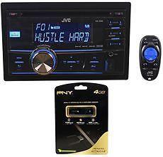 JVC KW R500 CD  Player Car Stereo Receiver w Pandora Control USB Drive