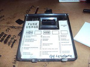 1992 1997 1993 1994 1995 1996 Buick LeSabre Dashboard Fuse Box Cover Black N565