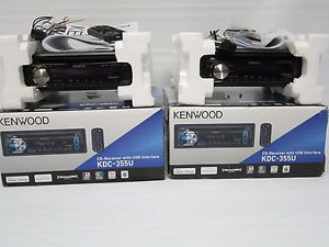 Kenwood KDC 355U Car CD MP3 Radio USB iPod iPhone Player Stereo Receiver
