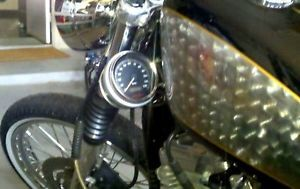 Custom Bobber Bracket Harley Davidson Sportster Speedometer Relocation Side Kit