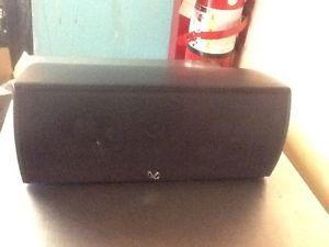 Infinity Center Channel Speaker Model CC 1 BK 174