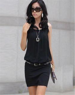Hotsale Korea Multilayer Tassels Black Gemstone Ladies Necklace Coat Chain N99