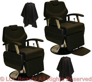 2 x Classic Professional Hydraulic Reclining Barber Chair Beauty Salon Equipment