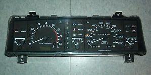 90 92 Nissan Pathfinder V6 at Dual Trip Instrument Cluster Speedometer Tach 172K