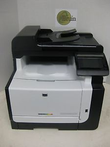 HP Laser Jet Pro CM1415FMW Color MFP Copier Scanner Printer 2K PG Ct CE862A