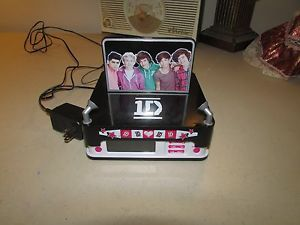 One Direction 1D Digital Alarm Clock Radio