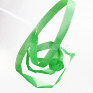 4X Green Gym Rhythmic Gymnastic Ballet Dance Ribbon Streamer Musical Theatre