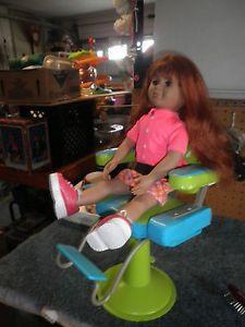 """Battat Hair Beauty Salon Barber Chair with 18"""" Battat Doll"""