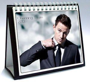 Channing Tatum 2013 Desktop Holiday Calendar