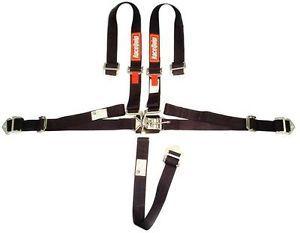 Racequip Harness Seat Belt Jr Dragster Quarter Midget 5 PT Black SFI 16 1