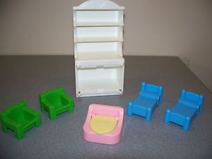 Playskool Dollhouse Furniture