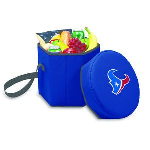 Bongo Collapsible Cooler Chair Houston Texans Navy from Brookstone