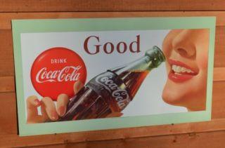 Vintage Cardboard Coca Cola Signs
