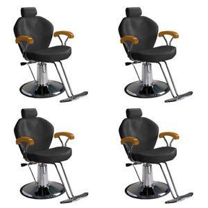 4 Salon Reclining Hydraulic Styling Barber Chair MP 80