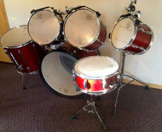 Tama 6 PC Rockstar Custom Drum Set
