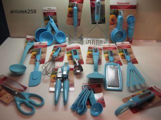 KitchenAid Aqua Turquoise Blue Kitchen Utensils