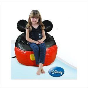 Beanbags Juniors Disney Mickey Mouse Bean Bag Chair Beanbag Chairs