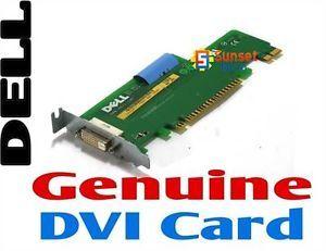 Dell Optiplex 740 SFF JK171 DVI DDC1 Low Profile SFF Video Card