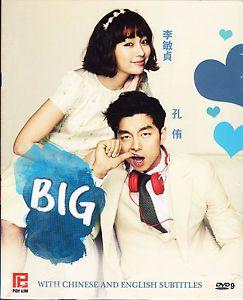 Big Korean Drama DVD Korean Audio with Good English Subtitle
