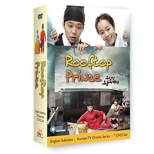 Rooftop Prince 2012 DVD Korean Drama Ya Entertainment 08 28 12 Release