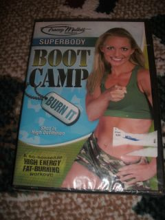 New Tracey Mallett SUPERBODY Boot Camp Burn It DVD Fat Burning Workout