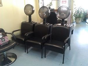 Hooded Hair Dryer and Dryer Chair Venus Plus by Highland Machine In