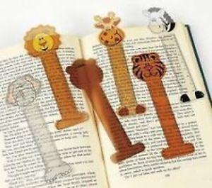 48 Zoo Safari Animal Ruler Bookmarks Kids Birthday Party Favors Stationary