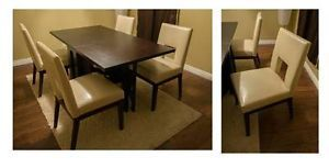 4 Dining Chairs Pier 1 Imports BAL Harbor Ivory Dining Table