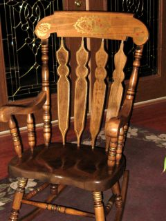 Peachy Antique Yugoslavian Maple Rocking Chair Must See Ocoug Best Dining Table And Chair Ideas Images Ocougorg