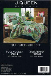 New Queen Quilt Set