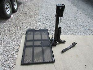 Wheel Chair Carrier Lift Electric 12 Volt Scooter Mobility Lift Bumper Mount