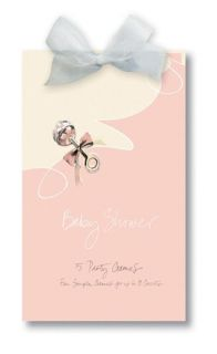 Little Angel Silver Rattle on Pink 5 Baby Shower Party Games for 8