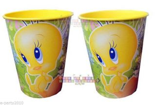 2 Looney Tunes Tweety Bird 16oz Keepsake Cups Birthday Party Supplies Favor