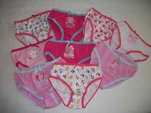 New Girls Peppa Pig George Panties Briefs Underwear 2T 3T 4T 5T 6 7 8