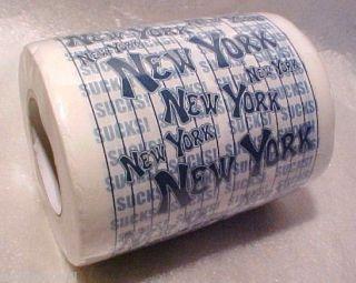 New York Yankees Sucks Evil Empire Toilet Paper Party Gag Gift Prank Joke Humor