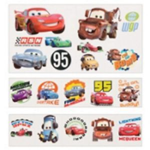 Disney Cars Tattoo Value Pack 120ct Birthday Party Favors Supplies