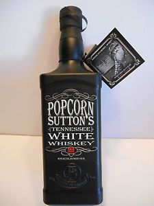 Popcorn Sutton Moonshine Whiskey Bottle Discontinued Empty Original Tag