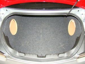 "2012 2013 Camaro Corner Sub Box Subwoofer Enclosures 2 10"" by Zenclosures New"